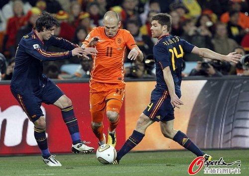 西班牙传球领先荷兰千次 3929传创造恐怖纪录