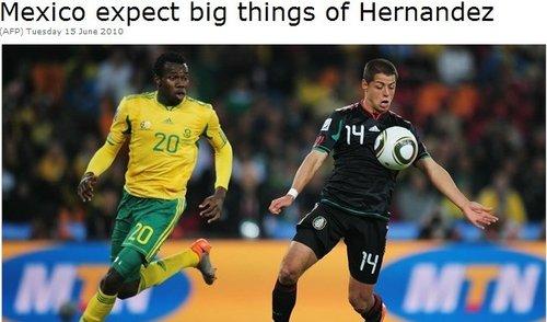 墨西哥天才生于足球世家 或成救世主做掉法国