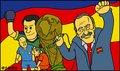 漫画:西班牙从欧洲之巅飞上世界之巅