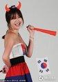 韩模写真助阵世界杯(15)
