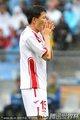 图文:葡萄牙7-0朝鲜 朝鲜队员双手掩面