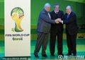 图文:2014世界杯会徽发布仪式举行(5)