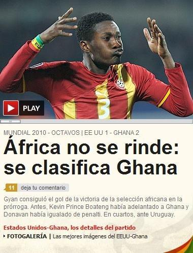 阿斯报:非洲笑了梦想继续 真正的世界杯来了