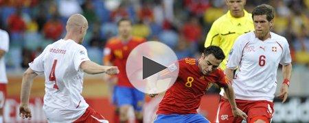 西班牙0-1瑞士 上半场