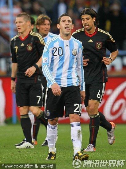 2010世界杯1/4决赛:德国4-0大胜阿根廷