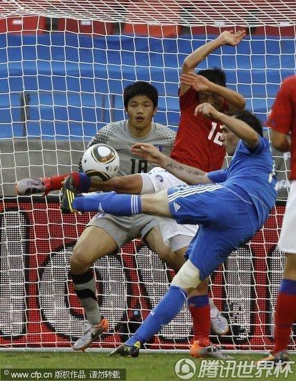2010世界杯小组赛:韩国vs希腊