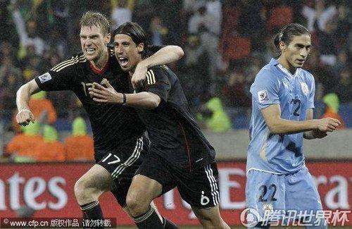2010世界杯3、4名决赛:德国3-2乌拉圭