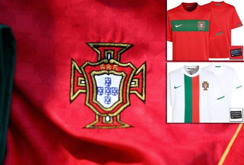 葡萄牙国家队球衣——充满爱国热情