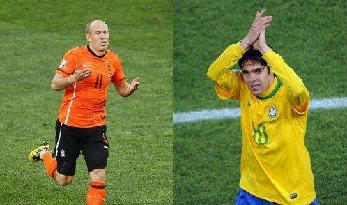 世界杯第18日:荷兰巴西各领风骚 下一战死磕