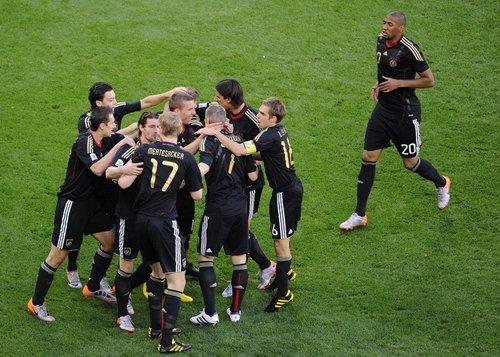 4比0!德国大胜 阿根廷回家
