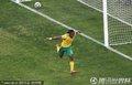 图文:揭幕战南非1-1墨西哥 沙巴拉拉进球