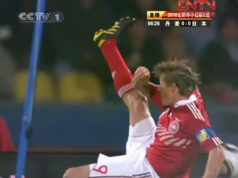 视频:丹麦VS日本精彩花絮 看台惊现蒙面大侠