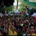视频:巴西胜智利晋级8强 球迷场外疯狂庆祝