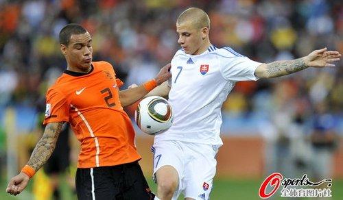 斯洛伐克主帅:错过3必进球 荷兰1人改变战局