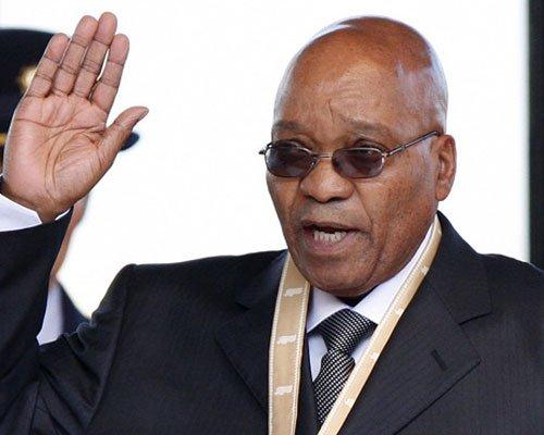 祖马:非洲首届世界杯应归功于曼德拉