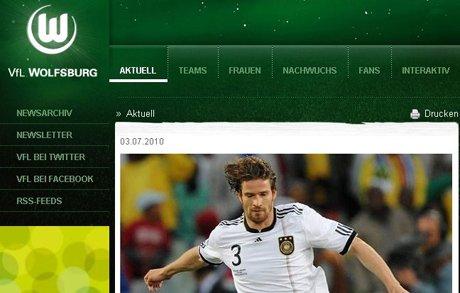 狼堡宣布签下弗里德里希 3年合约揽德国神针