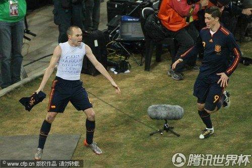 图文:荷兰0-1西班牙 小白内衣标注冠军归属_2