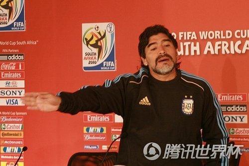 老马:我不是明星 智利比西班牙更配小组第一