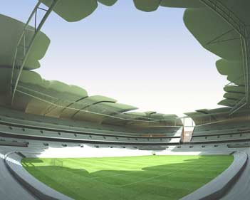 球场交通之开普敦绿点体育场