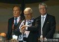 图文:德国Vs澳大利亚 德国足协官员观战(2)