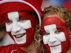 高清:世界杯球迷脸谱