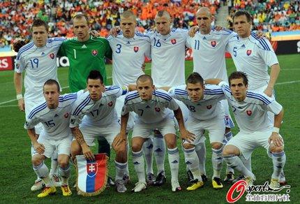 斯洛伐克出局亦是英雄 东欧新军赢得世界尊重