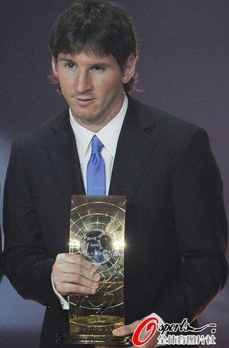 金球奖世界足球先生合并 梅西最后一个双料王