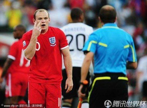 英德战世纪误判回放 全世界看到进球裁判没有