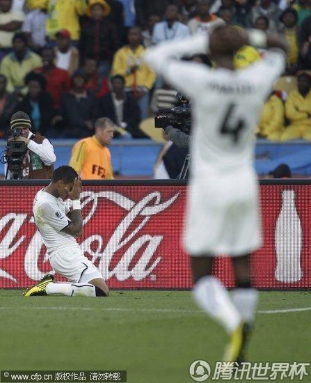 2010世界杯D组次轮:加纳1-1澳大利亚(精选)