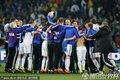 图文:斯洛伐克3-2意大利 斯洛伐克庆祝胜利