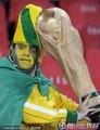 巴西球迷向往大力神杯