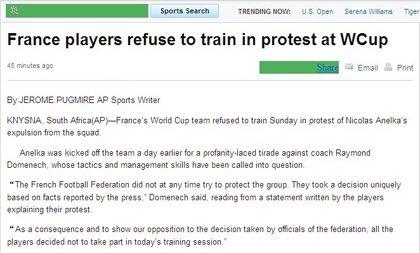 多梅内克解释罢训原因 全体反对开除阿内尔卡