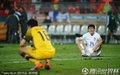 图文:乌拉圭2-1韩国 韩国队员失落