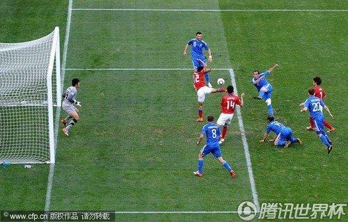 2010世界杯小组赛B组首轮:韩国2-0希腊