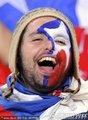 热情的智利球迷