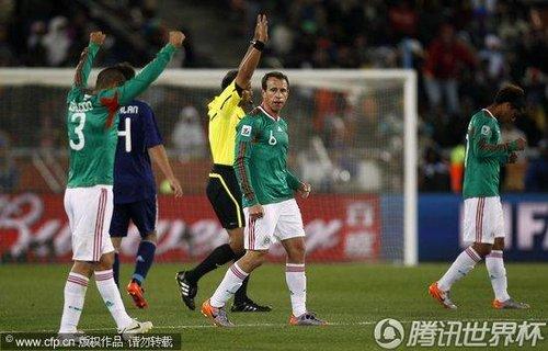 2010世界杯:法国vs墨西哥