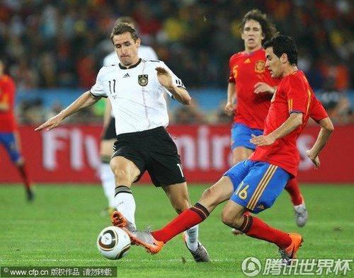 2010世界杯半决赛:德国Vs西班牙