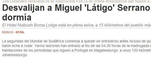 西班牙记者南非遭抢 3万美元财物被洗劫一空
