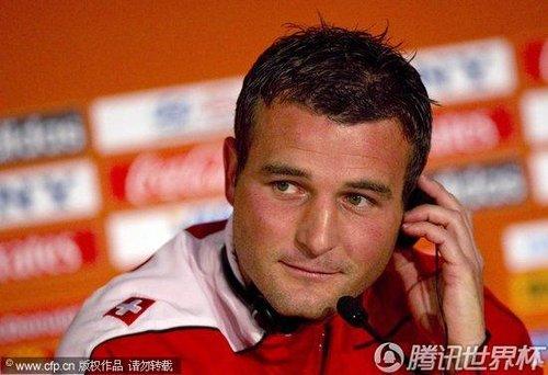 2010世界杯H组前瞻:瑞士训练备战小组赛末轮