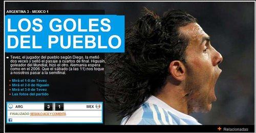 奥莱报:阿根廷获得八强门票 重遇德国复仇06