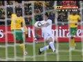 视频:南非乌拉圭20-25分钟 弗兰落叶球破门
