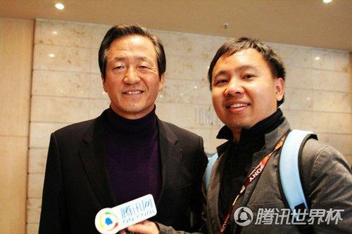 腾讯专访郑梦准:希望中国能早日冲进世界杯