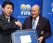 张吉龙获FIFA最高荣誉
