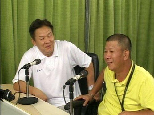 李辉(左)李萱(右)