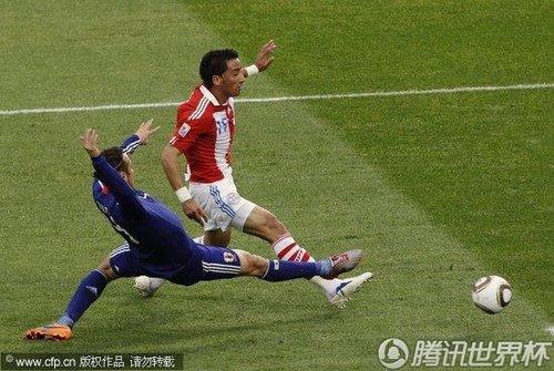 2010世界杯:日本vs巴拉圭