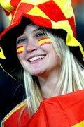 西班牙女球迷