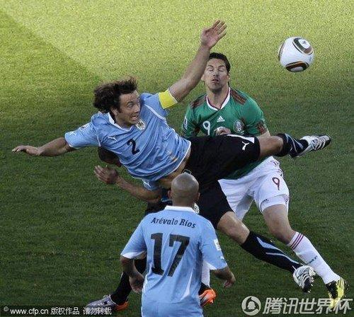 2010世界杯A组末轮:墨西哥0-1乌拉圭