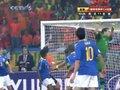 视频集锦:梅洛乌龙加红牌 巴西1-2荷兰出局