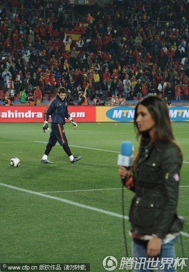 2010世界杯小组赛H组次轮:西班牙Vs洪都拉斯