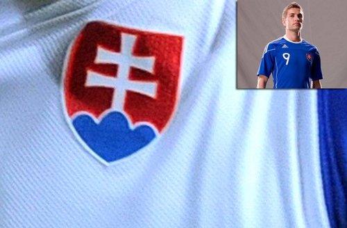 斯洛伐克国家队球衣——全新白色战袍